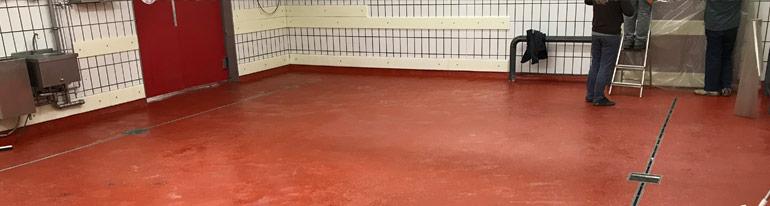 Speciální podlahy do potravinářských provozů